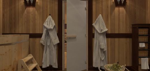 Способы установки дверей в баню своими руками