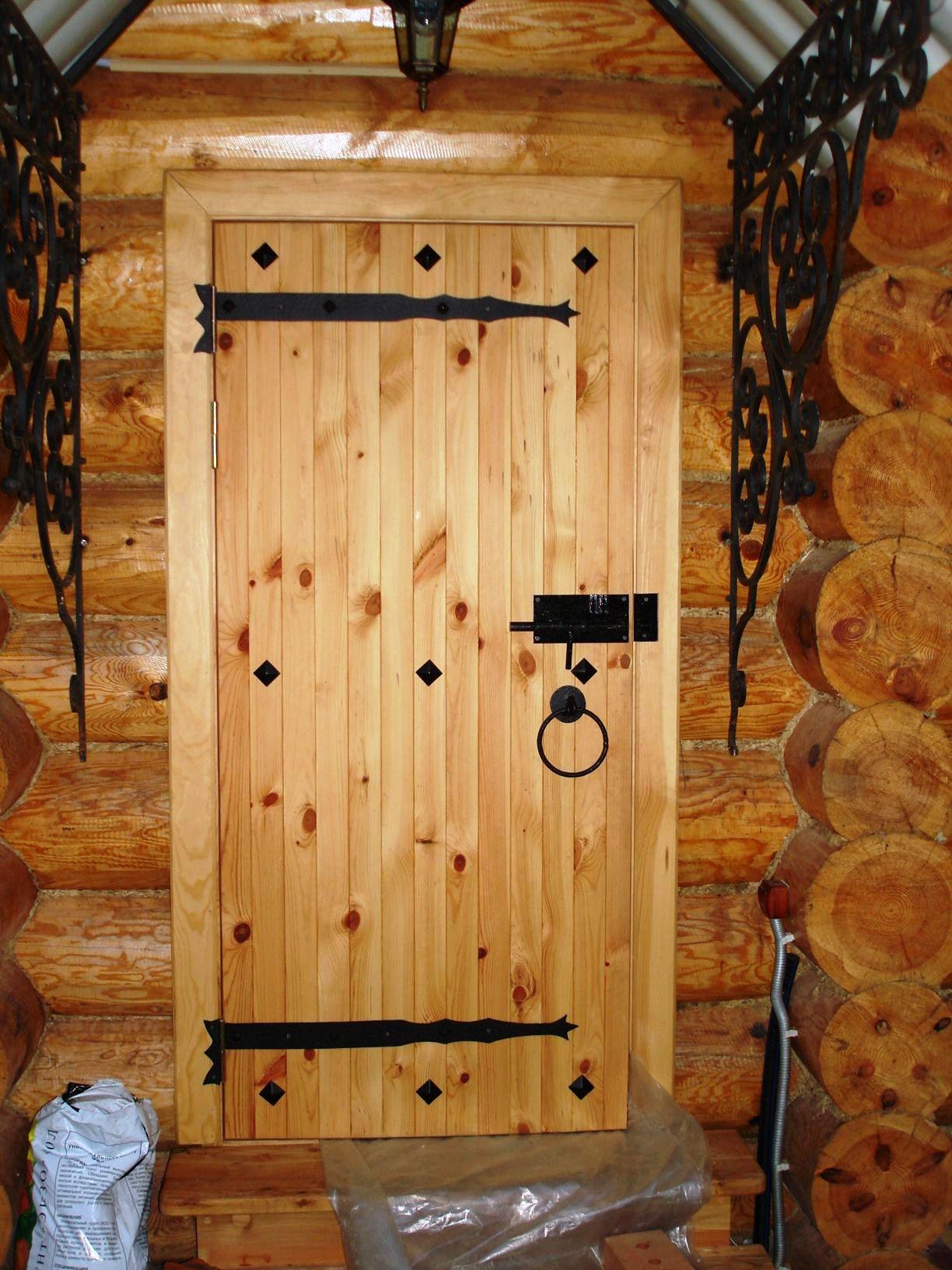 Монтаж деревянной входной двери своими руками