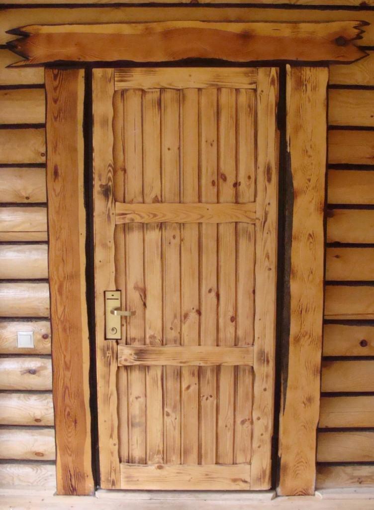 Крестьянская дверь для бани пошагово