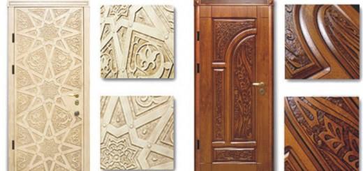 Декоративные накладки на двери