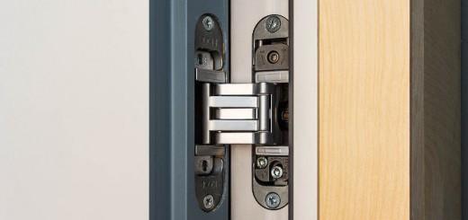 Особенности дверей из металла со скрытыми петлями