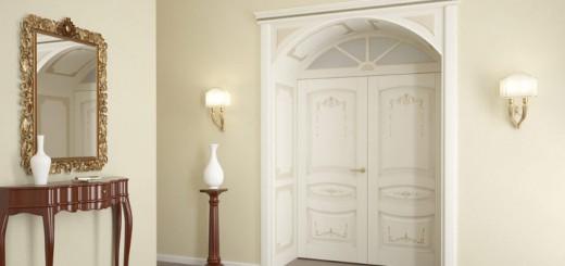 Особенности и преимущества белых филенчатых дверей