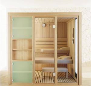 Описание стеклянных дверей для бани