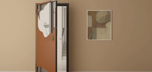 Описание входных бронированных дверей