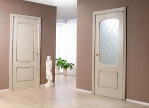 Основные дизайнерские преимущества дверей цвета капучино