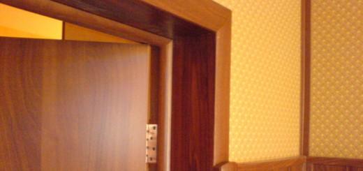 Описание дверных коробок для межкомнатных дверей