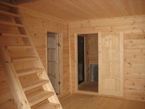 Установка межкомнатной двери в деревянном доме своими руками
