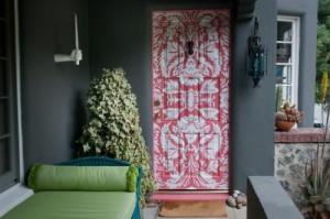 Варианты отделки дверей
