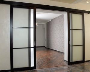 Варианты раздвижных дверей
