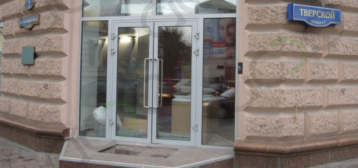 Дверь алюминиевая стеклянная: модели