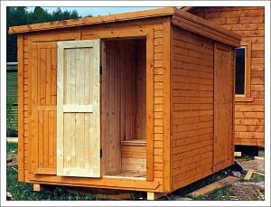Изготовление деревянной двери для сарая своими руками