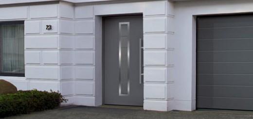 Уличная дверь с терморазрывом