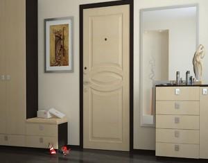 Сочетание дверей из беленого дуба с другими элементами интерьера