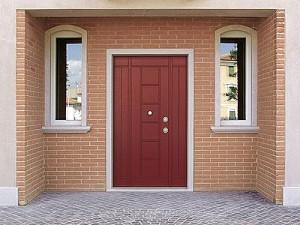 Деревянные входные двери для загородных домов