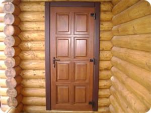Задачи двери из сосны для дачи