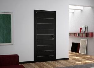 черные межкомнатные двери в интерьере фото