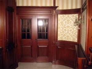 Материал используемый в дверях из массива