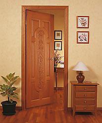 Межкомнатные двери из цельной древесины