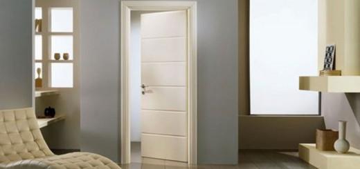 Описание и применение межкомнатных дверей цвета капучино