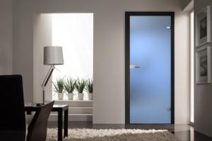 Межкомнатные двери: матовое стекло