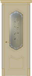 Двери межкомнатные: белая патина
