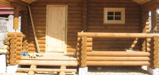Деревянная дверь в баню своими руками