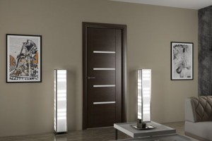 Преимущества, конструкция и особенности дверей в стиле «хай-тек»