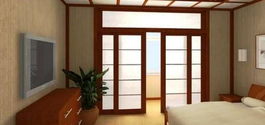 Преимущества и особенности межкомнтатных дверей в японском стиле