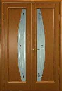 Материалы изготовления двустворчатых деревянных дверей