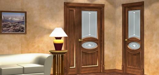 Простые способы обновить межкомнатную дверь