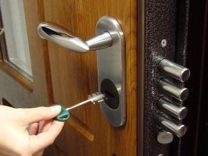 Регулировка дверного замка