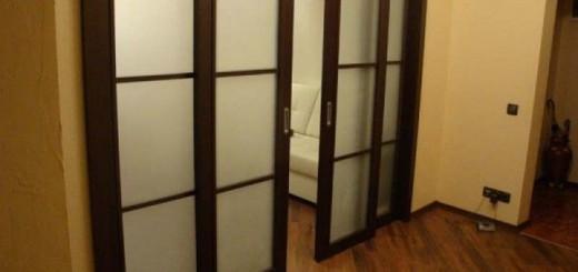 Межкомнатные двери на роликах и рельсах
