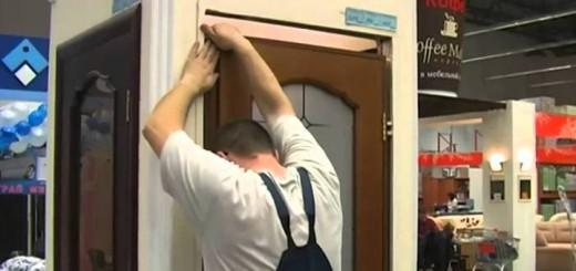 Ход работ по замене межкомнатной двери