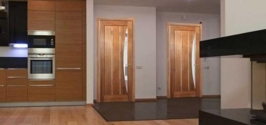 Межкомнатные двери из ольхи