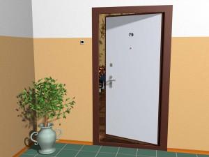 Нюансы конструкций дверей с внутренним открыванием