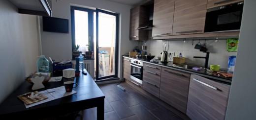 Балконная дверь на кухне