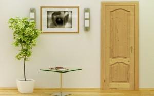 Материал используемый при изготовлении деревянных дверей