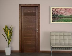 Достоинства и недостатки шпонированных дверей
