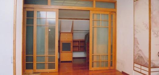 Свойства и описание межкомнатных раздвижных двустворчатых дверей