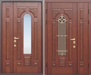 Наружные стальные двери