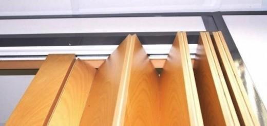 Межкомнатные складные двери гармошка: плюс и минусы