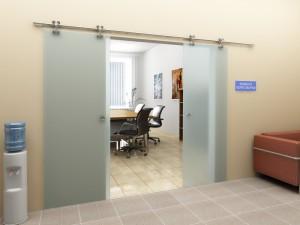 Разновидности подвесных раздвижных межкомнатных дверей
