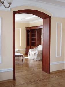 Способы отделки проемов без дверей