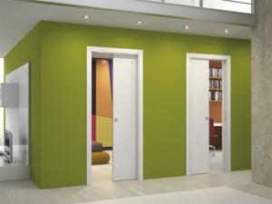 Свойства и описание раздвижных межкомнатных кассетных дверей