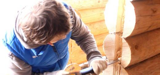 Технология установки деревянных дверей