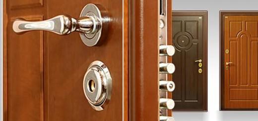 Принцип установки металлической двери