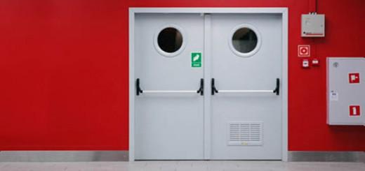 Требования к материалу противопожарных дверей