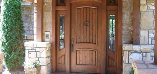 Дверные конструкции из массива