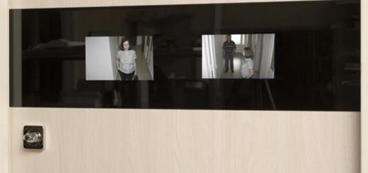 Видеонаблюдение с помощью глазка
