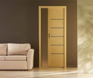 Преимущества и особенности межкомнатных встроенных дверей